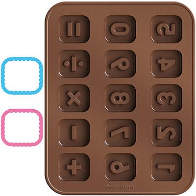 TESCOMA 巧克力模+層架切模(數字)