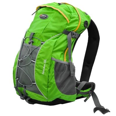 【迪伯特DIBOTE】人體工學30L登山背包/登山包-綠