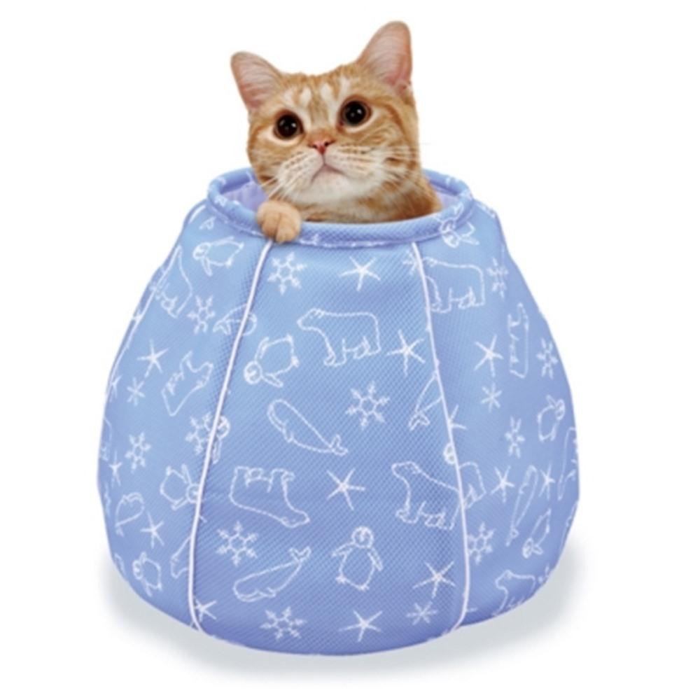 Marukan 貓咪涼感床 水壺造型 (CT-405)