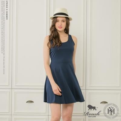 ROUSH 女生腰身版棉質洋裝 (4色)