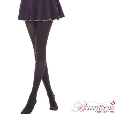 BeautyFocus-平腹俏臀顯瘦褲襪-黑