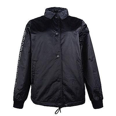 CONVERSE-女棒球外套10007515A01-黑