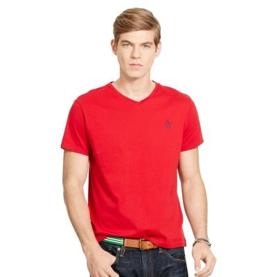 Ralph Lauren 短袖 T恤 素面 紅色 301