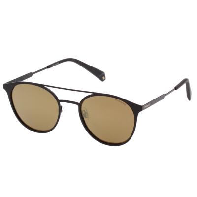 Polaroid 寶麗萊 水銀面 偏光太陽眼鏡 (黑色)