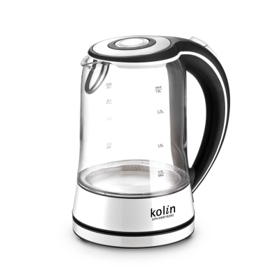 歌林LED耐熱玻璃1.8公升快煮壺-KPK-MNR1829G
