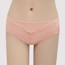 瑪登瑪朵 S-Select  中腰寬邊三角萊克內褲(薔薇粉)