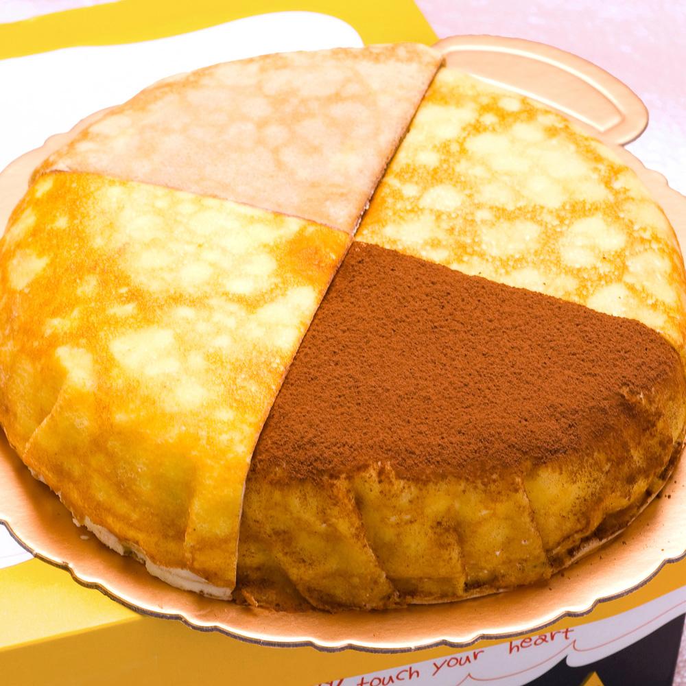 塔吉特 綜合千層A(牛奶+巧克力+蕾雅起士+提拉米蘇)
