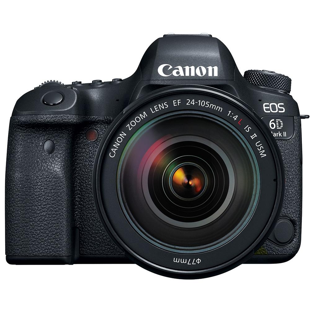Canon 6D Mark II 24-105mm f4L II 變焦鏡組(公司貨)