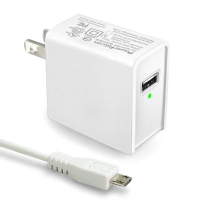 PowerFalcon 5V/2.4A通用充電器 附Micro USB充電線