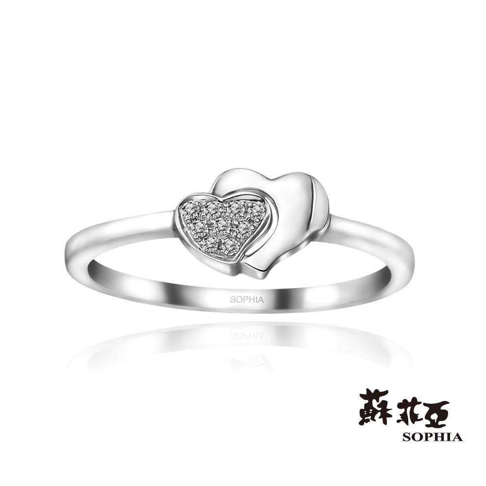 蘇菲亞SOPHIA - 心心相印鑽石尾戒