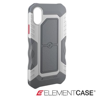 美國 Element Case iPhone X Recon軍用防摔防滑手機保護殼-極地灰