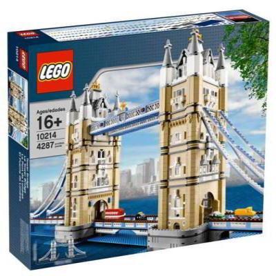 【LEGO樂高】特別版建築系列/10214 倫敦鐵橋