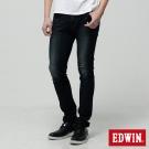 EDWIN 直筒褲 迦績褲JERSEYS圓織牛仔褲-男-原藍磨