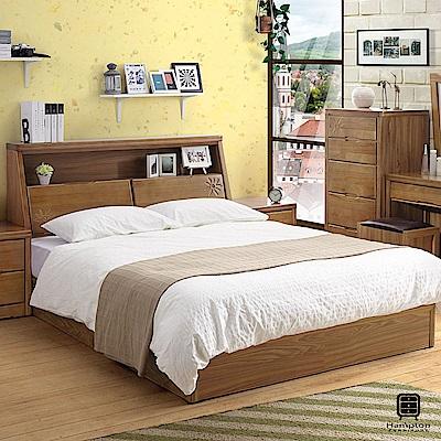 漢妮Hampton格溫系列實木5尺床組