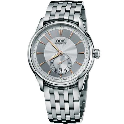 ORIS Artelier 藝術家小秒針機械腕錶-40mm