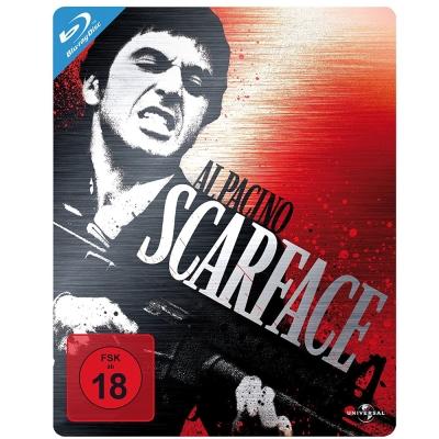 疤面煞星 Scarface 限量鐵盒版  藍光 BD