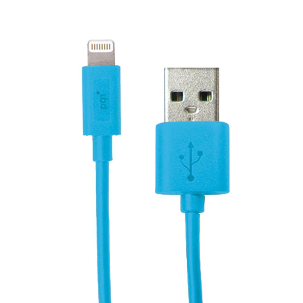 PQI i-Cable Lightning 100 傳輸充電線 藍