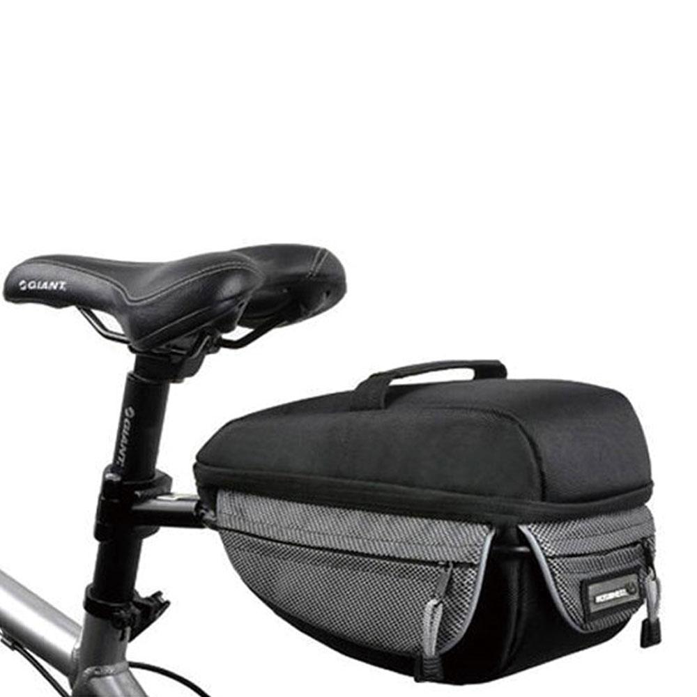 PUSH!自行車用品 有型自行車 後貨包 相機包 工具包(附貨架及防雨罩)