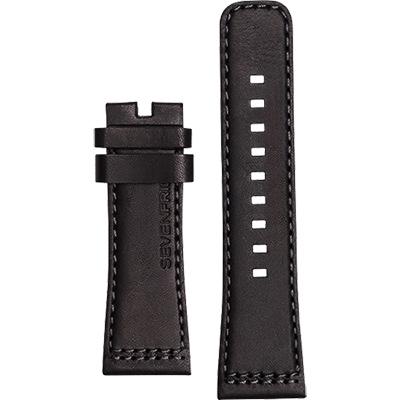 SEVENFRIDAY M1 原廠牛皮錶帶-黑