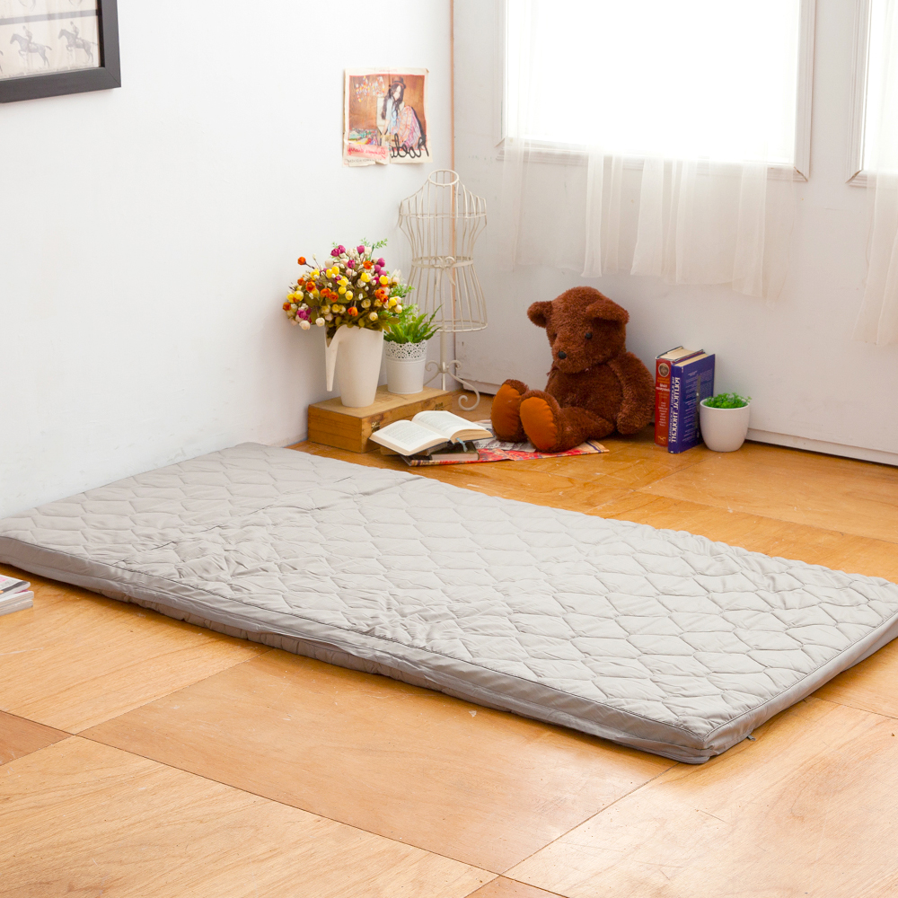 LAMINA  環保咖啡紗舒適床墊-5cm (單人)