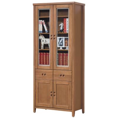 時尚屋 香杉美檜<b>3</b>尺中抽書櫃 寬82cm