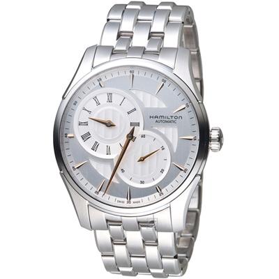 Hamilton時間玩家系列倒蘆型機械腕錶(H42615151)-42mm