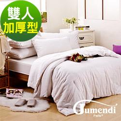 喬曼帝Jumendi-溫柔宣言 鑽石級加厚型雙人手工純長纖蠶絲被3.6kg