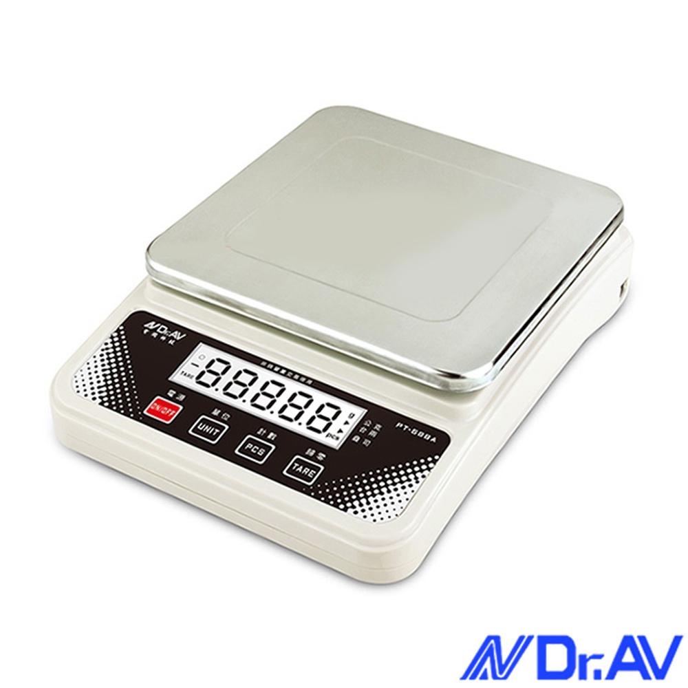 Dr.AV 超耐用不鏽鋼電子秤(PT-588A)