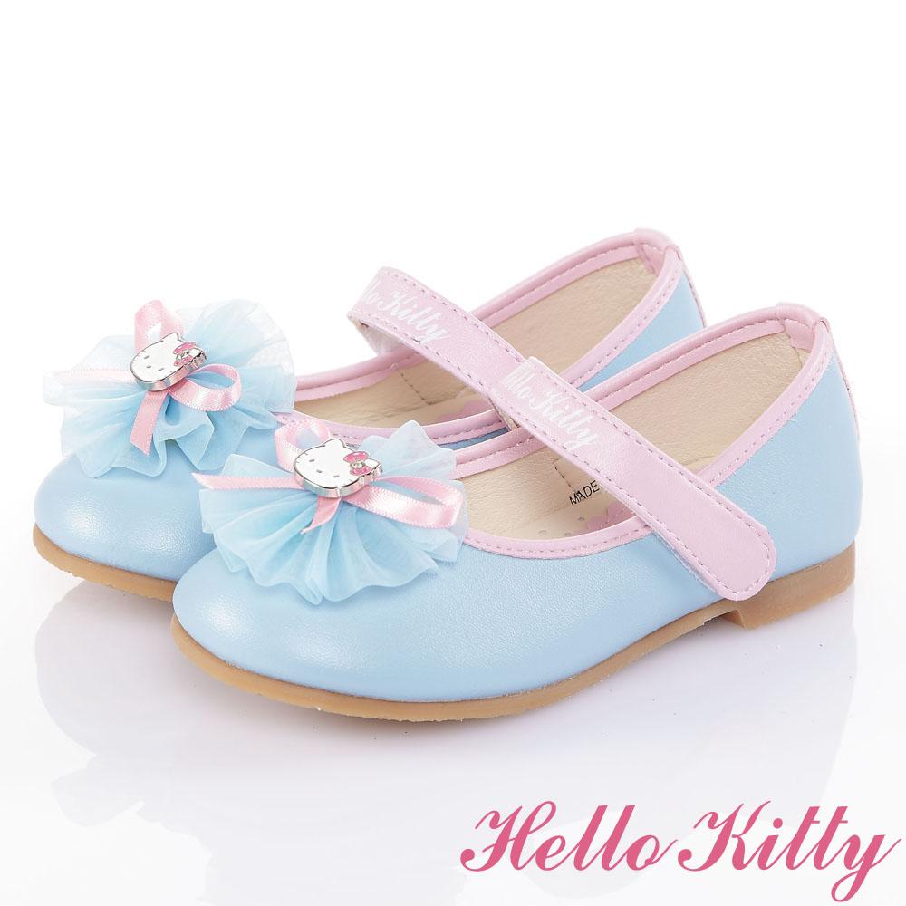 HelloKitty手工公主娃娃童鞋-水(16-19.5cm)