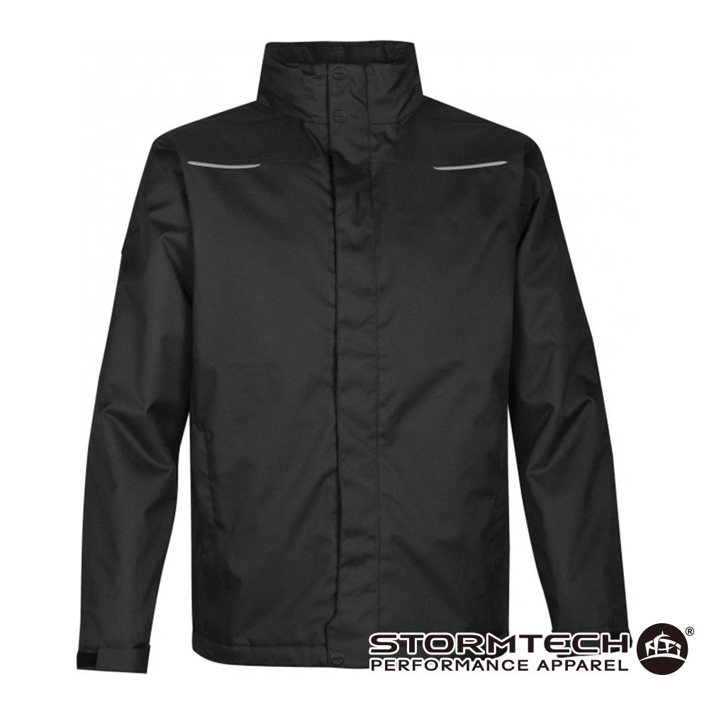 【加拿大STORMTECH】PFS-4 經典款耐磨抗水保暖科技棉外套-男-黑