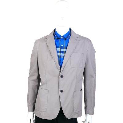 CERRUTI 1881 灰色口袋設計休閒西裝外套