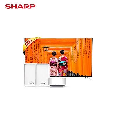 SHARP 夏普60吋4K 顯示器 LC60SU666T 總裁限定版