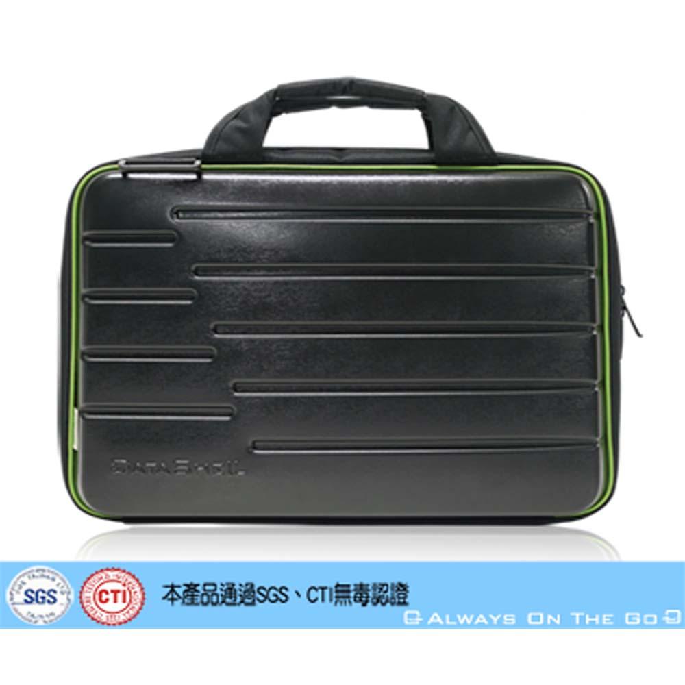 【DATASHELL】愛地球系列環保15.6吋手提公事包(消光黑)