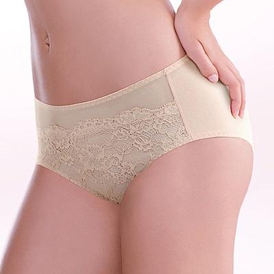 黛安芬-蝴蝶逆齡bra大女人系列高腰內褲 L-EQ(經典膚)