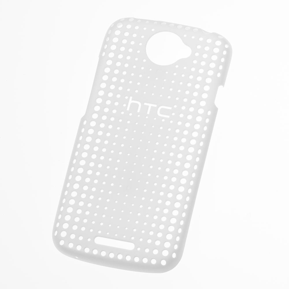 HTC HC C744 One S 原廠洞洞版背殼(白)