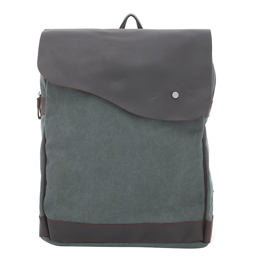 【Vensers】韓潮頂級棉麻包系列~後背包(C1203203湖綠)
