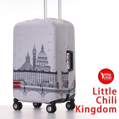 LittleChili行李箱套520-倫敦白L