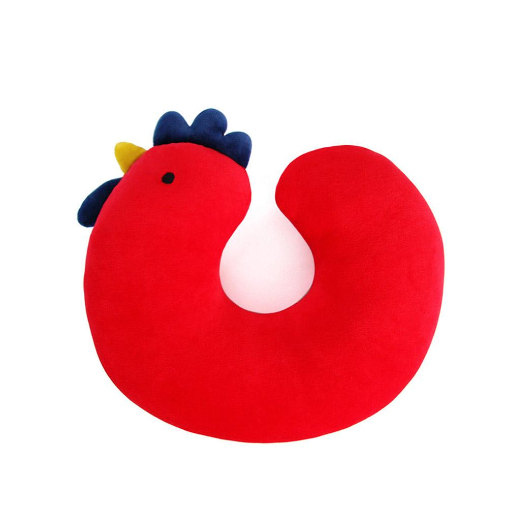 Yvonne Collection公雞兒童頸部抱枕-紅