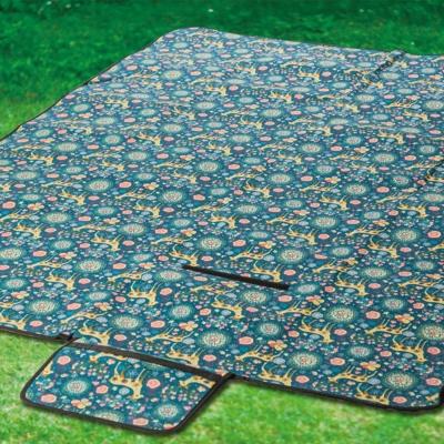 PINUS 防潮野餐墊 地墊 ( 145 x 200 cm)『藍色小鹿』 17025