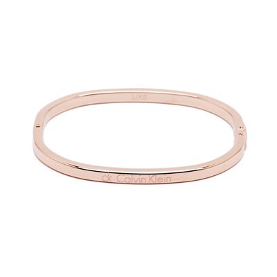 CK Calvin Klein 細緻簡約風格手環-玫瑰金色
