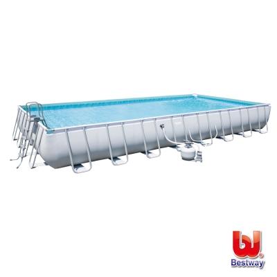 《凡太奇》Bestway。大型矩形框架泳池56625E
