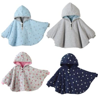 寶寶斗篷 三層雙面披風 兩面式-4色可選