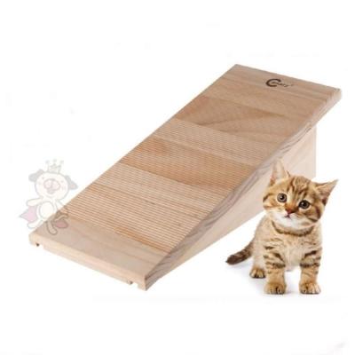 Canary貓公爵 指尖二重奏原木抓板 【C-A415】