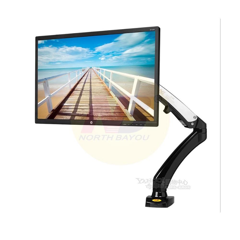 NB F100 氣壓式液晶螢幕手臂桌架