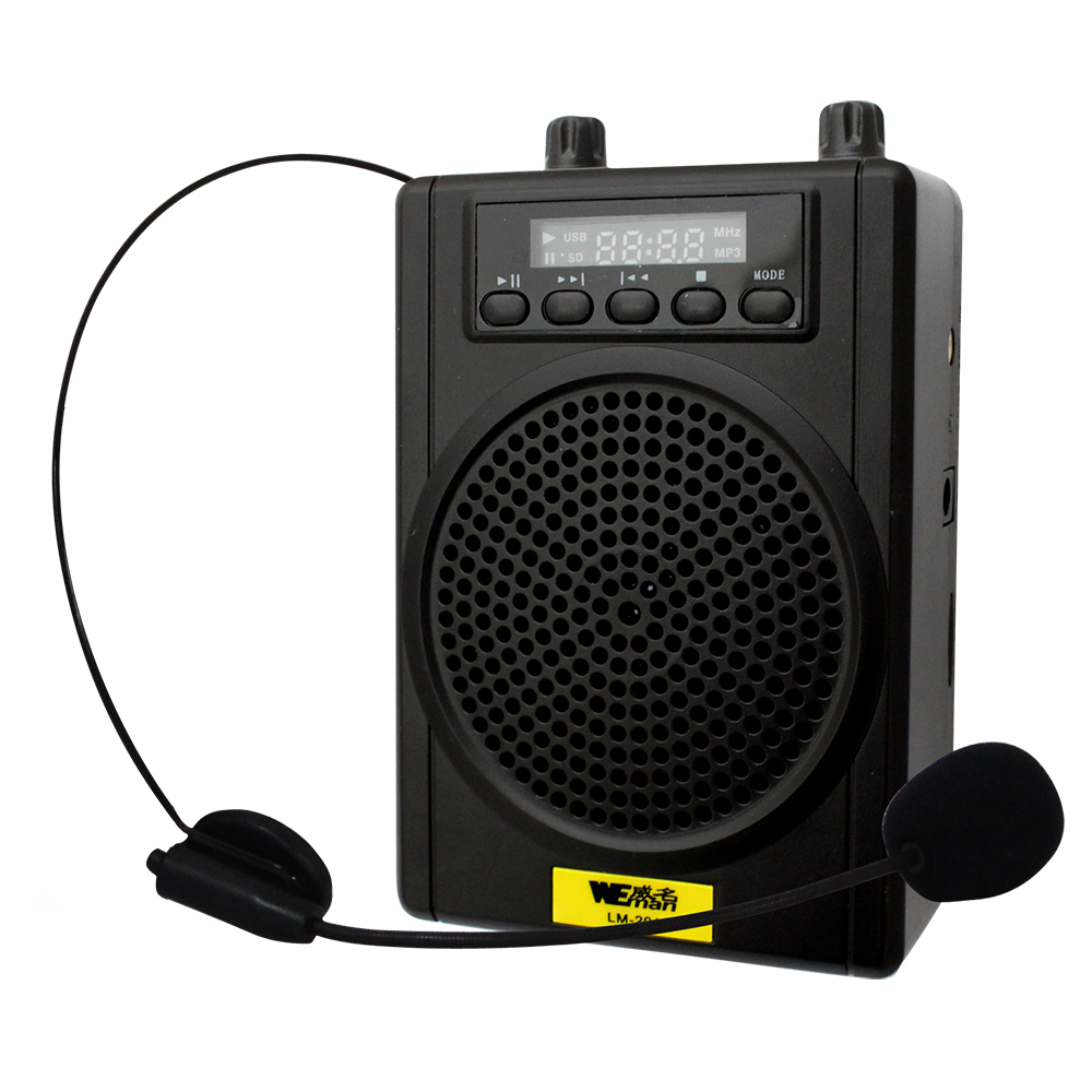 WEMAN威名 充電式多媒體數位教學擴音機(LM-201)