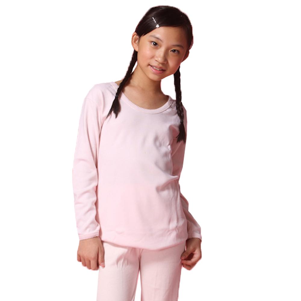 LOVIN BABY一王美台灣製純棉素面女童V領衛生衣~4件