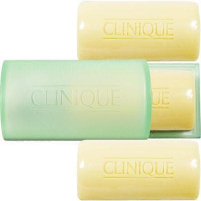 CLINIQUE 倩碧 三步驟洗面皂(3小塊溫和型)(50g*3)