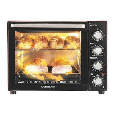獅子心3D旋轉烤籠35L雙溫控烘焙烤箱LOT-350C