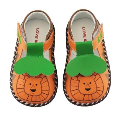 愛的世界 森林之王寶寶鞋/學步鞋 -台灣製-