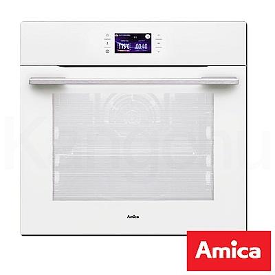 Amica 波蘭進口 EB-81064WA 崁入式12種行程三層玻璃3D立體旋風烤箱